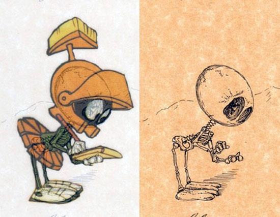 Marvin the Martian © Michael Paulus