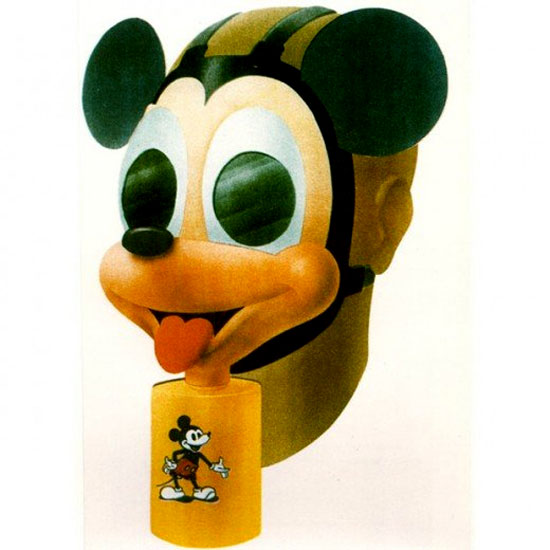Mickey Mouse Gas Masks