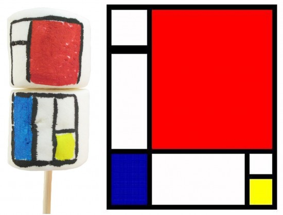 Mondrian Marshmallows © Meaghan Mountford