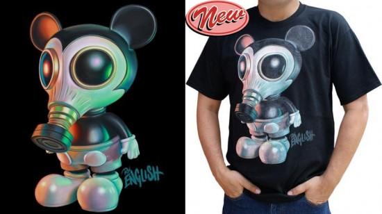 Mouse Mask Murphy T-shirts