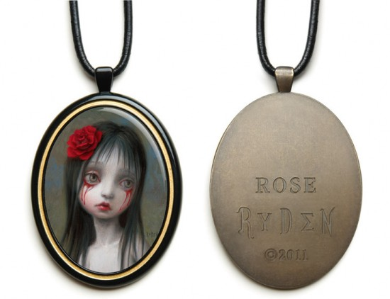 Mark Ryden Rose Pendant