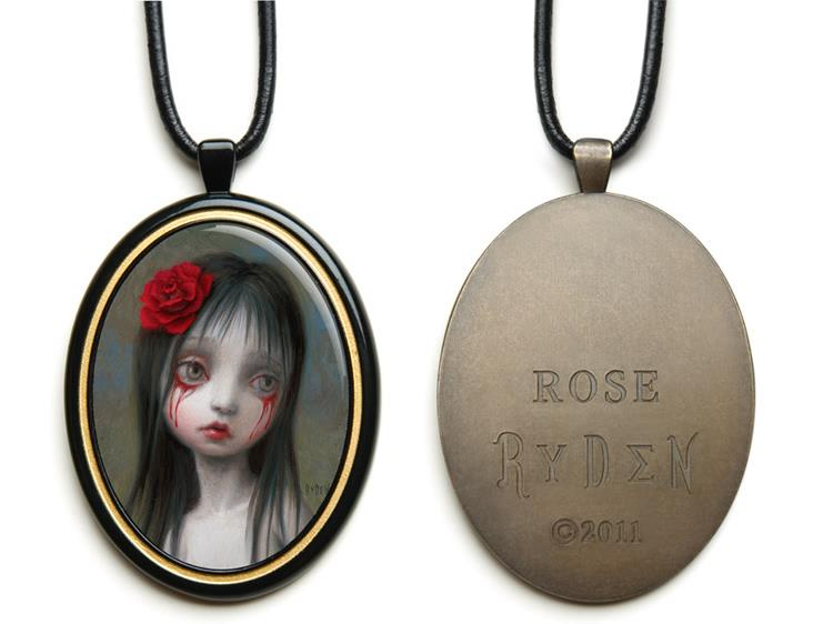 Mark Ryden's Rose Pendant