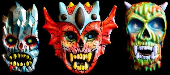 Masks by Skinner