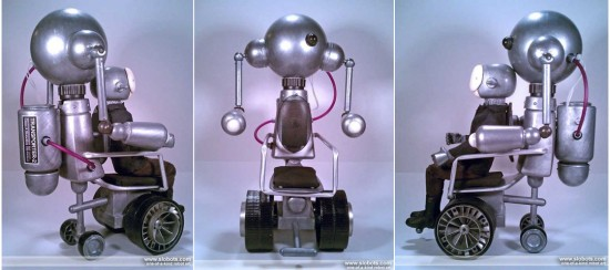Mike Slobot's Accessible Transporter robot art