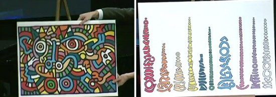 OCD art: Ursus Wehrli's Tidying Up Keith Haring