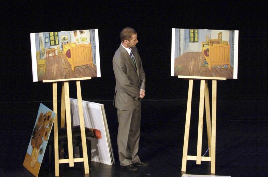 OCD art: Ursus Wehrli's Tidying Up Van Gogh