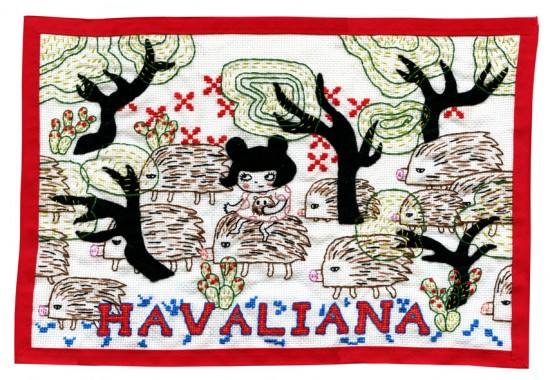 """Havalina"" by Aya Kakeda"