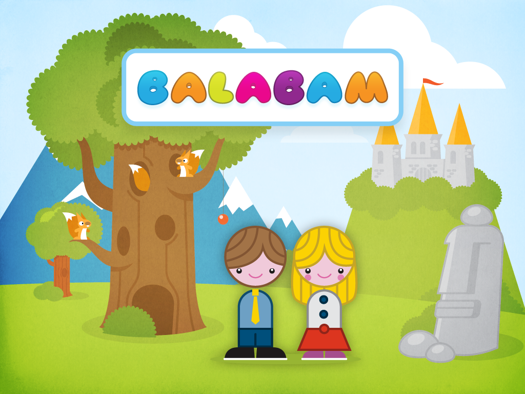Balabam iPad App for Kids from Sergey Safonov