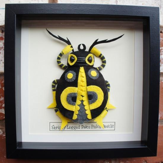 Pakupaku Beetle © Felt Mistress