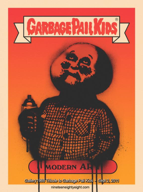 Garbage Pail Kids: Modern Art