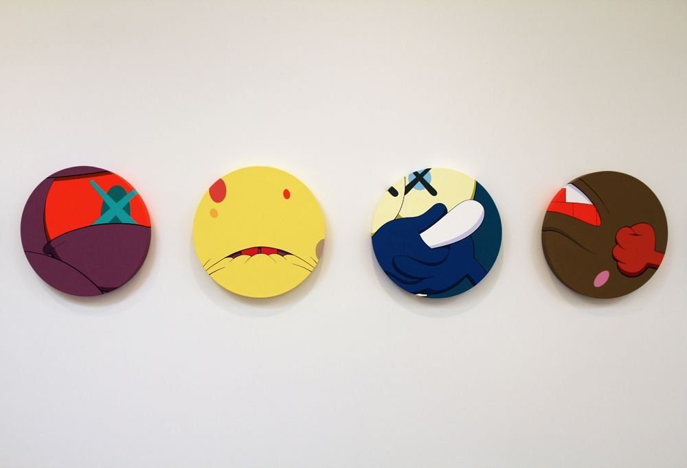 Kaws' Hold the Line at Honor Fraser