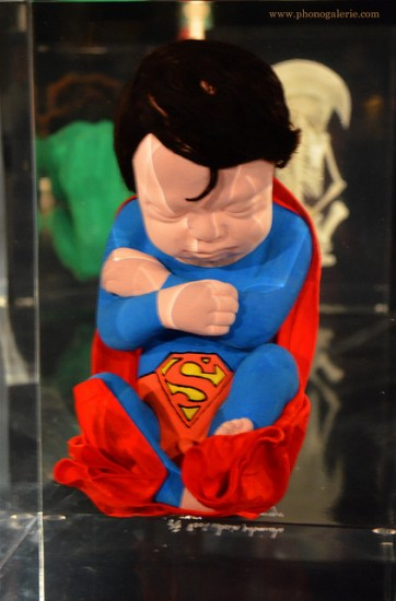 Fetal Superman by Alexandre Nicolas