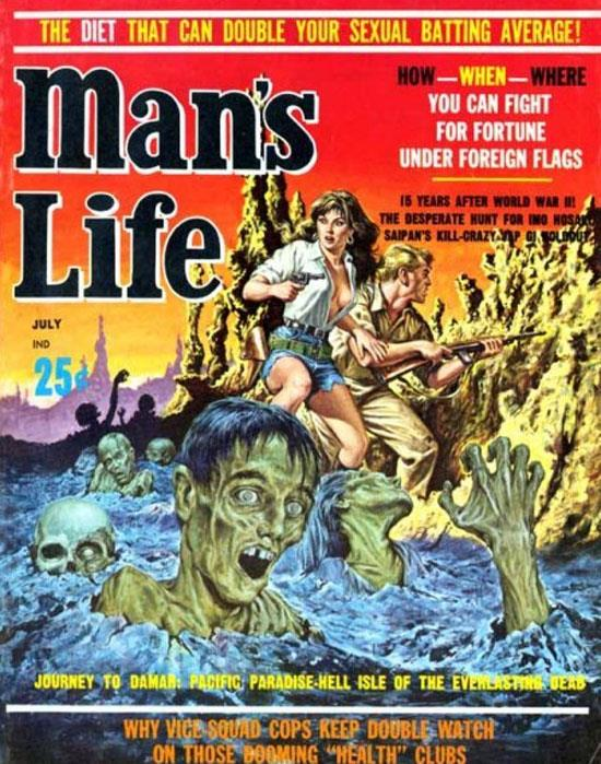 1950s Man's Life Magazine Cover
