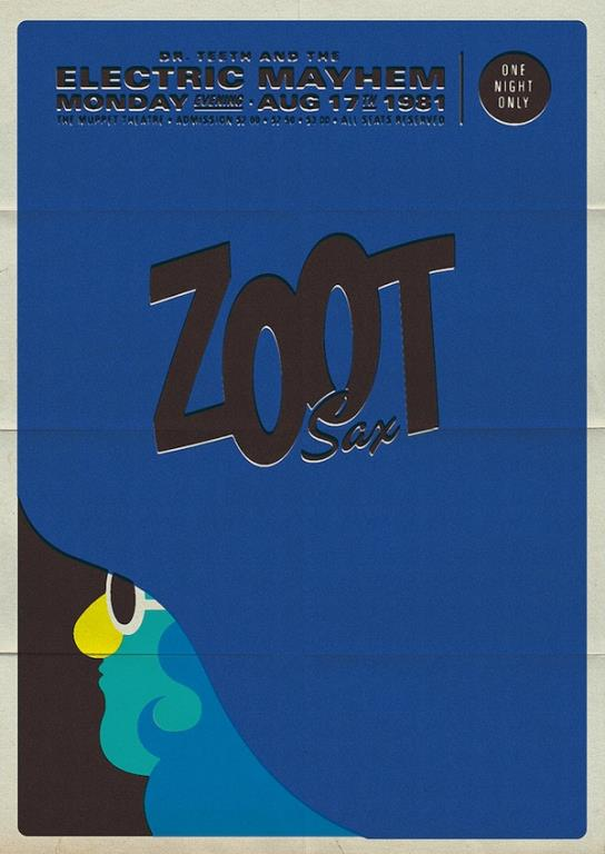 Retro Muppet Concert Posters