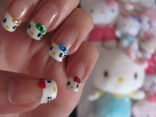 Nail Art Pop Culture: Hello Kitty Nails by Nancy L