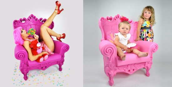 Design of Love Queen Chairs