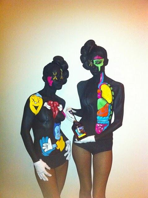 Real life KAWS dissected companions