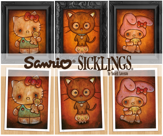 Sanrio Sicklings by Yosiell Lorenzo