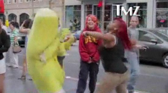 SpongeBob smackdown