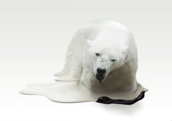 Melting Animal Sculptures by Takeshi Kawano