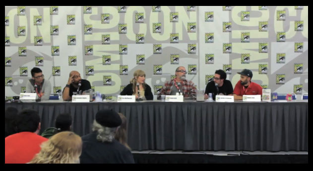 The Vinyl Frontier Panel at Comic-Con