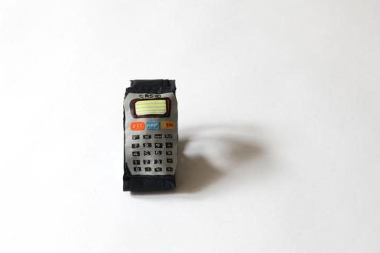 Megan Whitmarsh Soft Sculptures Calculator Watch