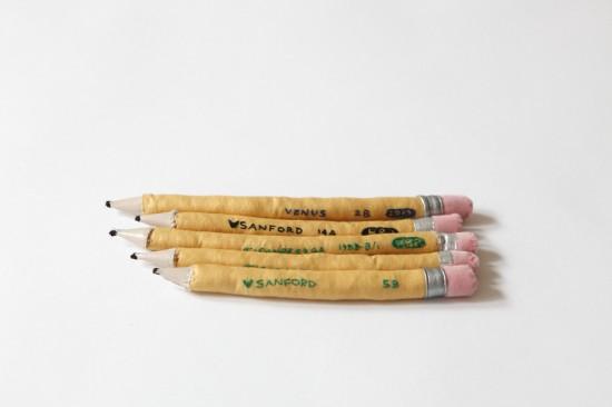 Megan Whitmarsh Soft Sculptures #2 Pencils