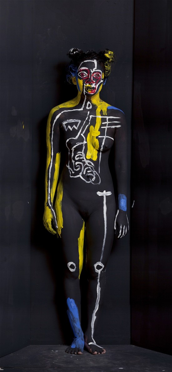 Jean-Michel Basquiat © Olaf Breuning