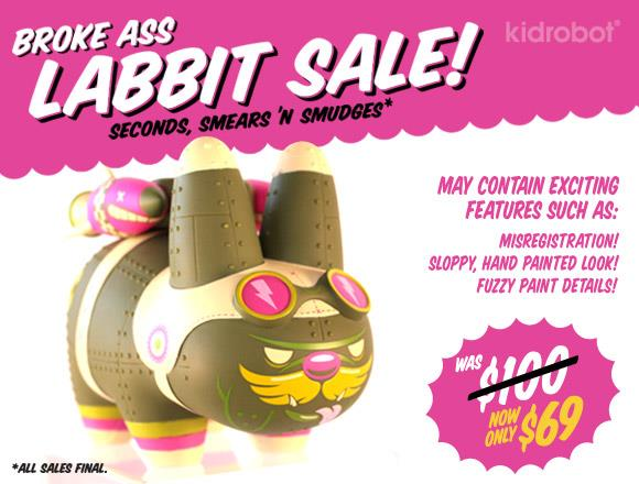 Kidrobot's Broke-Ass Labbits