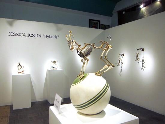Hybrids by Jessica Joslin at La Luz de Jesus Gallery 2010