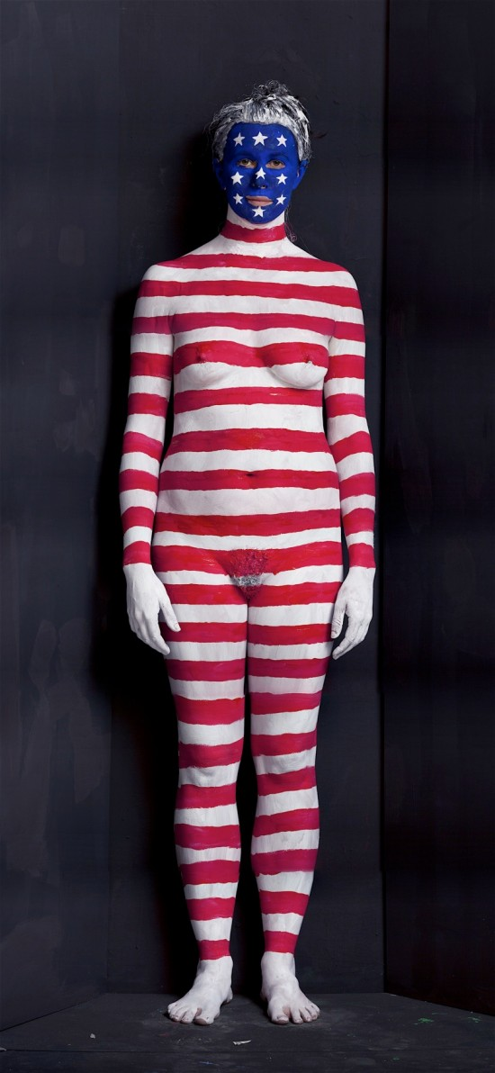 Jasper Johns © Olaf Breuning