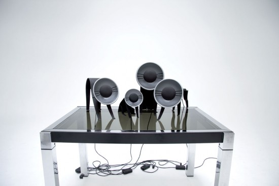 MiCha Lamps © Kuntzel+Deygas cat lamps