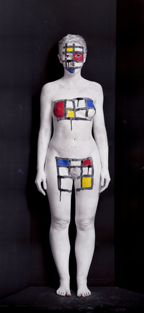 Piet Mondrian © Olaf Breuning