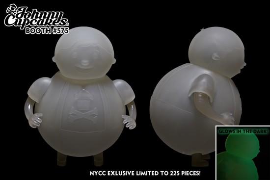 Johnny Cupcakes Big Kid mascot toy