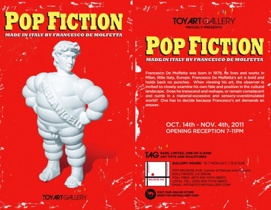 Pop Fiction flier