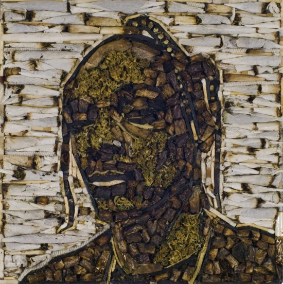 Snoop Dogg Weed Art Portrait © Jason Mecier