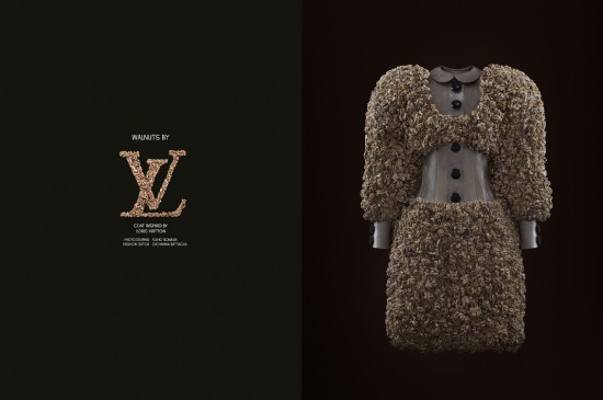 Walnuts by Louis Vuitton. Photo  Fulvio Bonavia for Garage magazine.