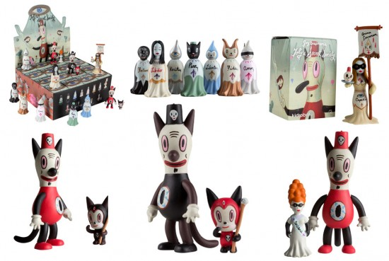 Gary Baseman vinyl toys Secret Society Mini-Series