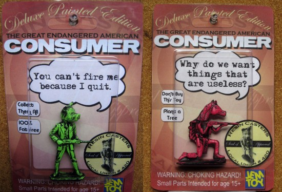 The Great Endangered American Consumer © J.E.M. Toy