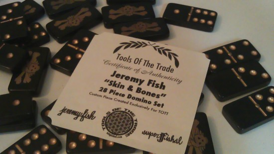 Jeremy Fish Domino Set