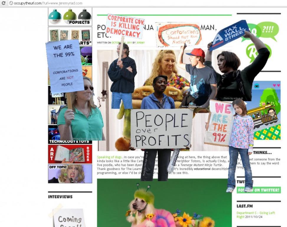 Occupy Jeremyriad