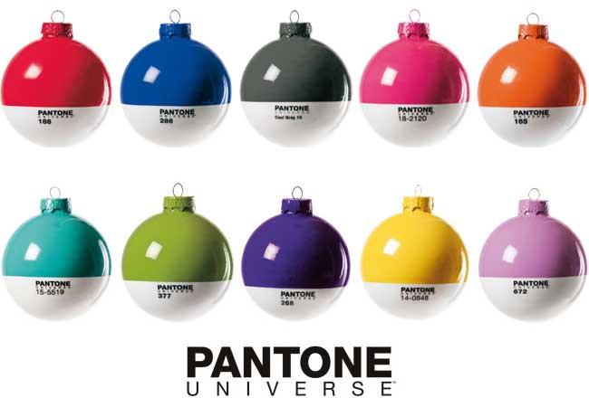 Pantone Christmas Balls by Seletti