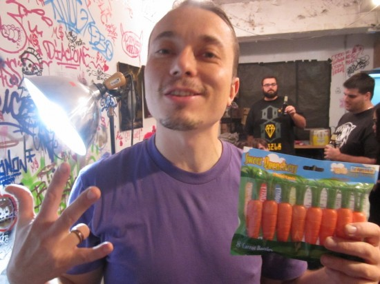 Sucklord: Lord of the Carrots, photo by SpankyStokes