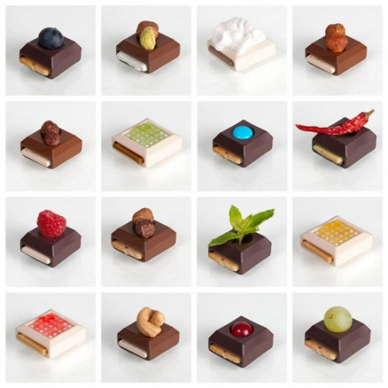 Sweet Play DIY designer chocolates by Elsa Lambinet