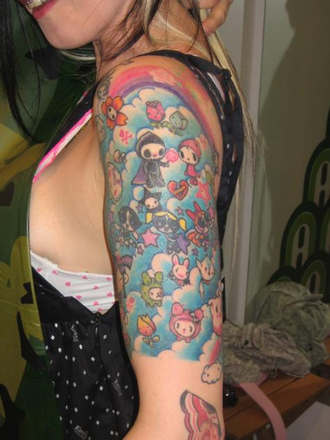 Tokidoki Barbie Gets All Tatted Up