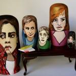 pop culture nesting dolls: Breakfast Club