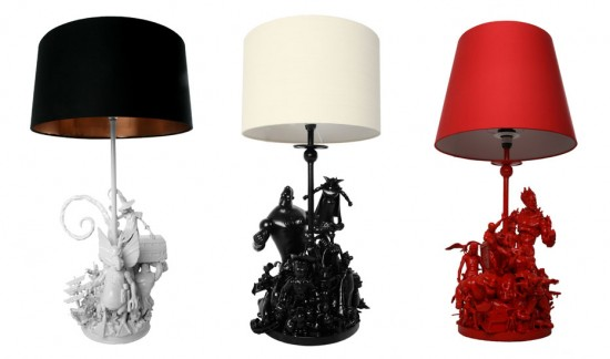 Toy Lamps by Evil Robot Designs