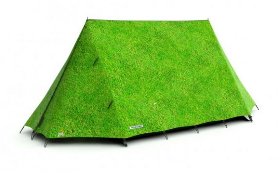 The Grass is Always Greener Tent by Field Candy