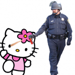 Casually Pepper Spray Hello Kitty