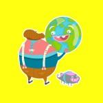 Cheerios Characters by Halli Civelek